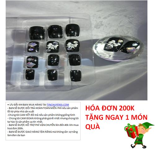 FOLLOW SHOP-GIÁ HỦY DIỆT]BỘ MÓNG TAY GIẢ 24 MÓNG NAIL NOBLE 08