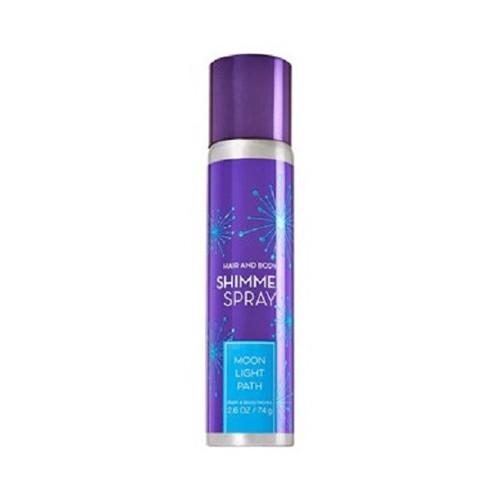 Xịt Nhũ Bóng Tóc Và Body Works Shimmer Spray 74gr