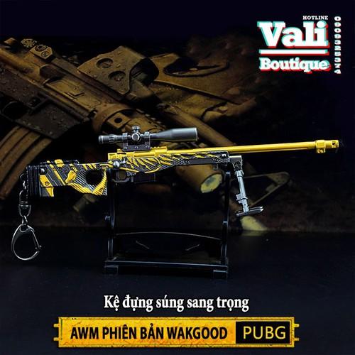 Móc khóa game PUBG - AWM Wakgood - 18cm