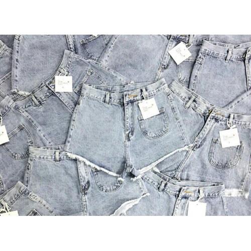 Quần short jean đơn giản