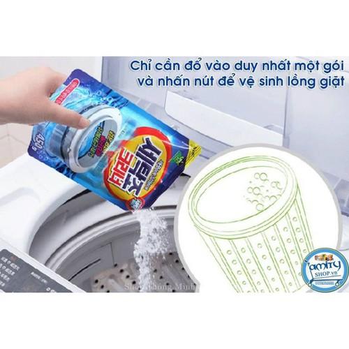 Combo 2 gói Bột tẩy vệ sinh lồng máy giặt 450gr Hàn Quốc - 6941522 , 13679174 , 15_13679174 , 99000 , Combo-2-goi-Bot-tay-ve-sinh-long-may-giat-450gr-Han-Quoc-15_13679174 , sendo.vn , Combo 2 gói Bột tẩy vệ sinh lồng máy giặt 450gr Hàn Quốc