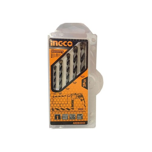 4-10mm Bộ 5 mũi khoan bê tông đuôi trơn INGCO AKDB3055 - 6934133 , 13665145 , 15_13665145 , 45000 , 4-10mm-Bo-5-mui-khoan-be-tong-duoi-tron-INGCO-AKDB3055-15_13665145 , sendo.vn , 4-10mm Bộ 5 mũi khoan bê tông đuôi trơn INGCO AKDB3055