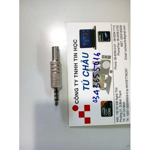 Jack hàn dây 3.5 mm, 3 khắc - 4 điểm cực - 6936588 , 13672156 , 15_13672156 , 18000 , Jack-han-day-3.5-mm-3-khac-4-diem-cuc-15_13672156 , sendo.vn , Jack hàn dây 3.5 mm, 3 khắc - 4 điểm cực