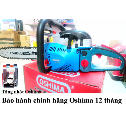 Máy cưa xích Oshima OS 5200 tặng 1 chai nhớt Oshima 2T - 7265355 , 13949000 , 15_13949000 , 2255000 , May-cua-xich-Oshima-OS-5200-tang-1-chai-nhot-Oshima-2T-15_13949000 , sendo.vn , Máy cưa xích Oshima OS 5200 tặng 1 chai nhớt Oshima 2T