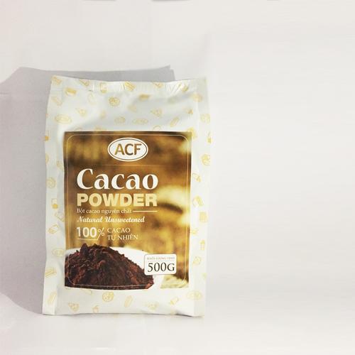 Bột cacao nguyên chất ACF hảo hạng 500g