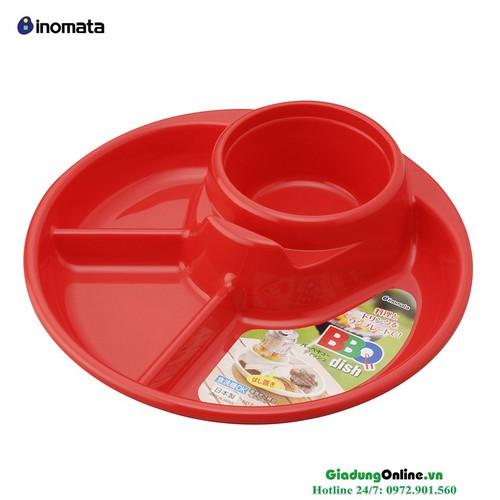 Khay ăn chia ngăn Inomata cho bé hàng Nhật