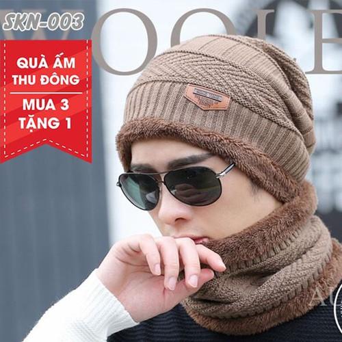 [Mua 3 Tặng 1] Mũ Len Kèm Khăn Cổ Mũ Len Mũ Len Hàn Quốc