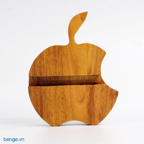 Đế dựng điện thoại, máy tính bảng hình quả táo bằng gỗ - 6946640 , 13684754 , 15_13684754 , 65000 , De-dung-dien-thoai-may-tinh-bang-hinh-qua-tao-bang-go-15_13684754 , sendo.vn , Đế dựng điện thoại, máy tính bảng hình quả táo bằng gỗ