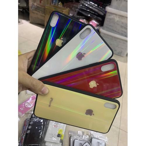 ốp lưng iPhone xsmax bóng kính