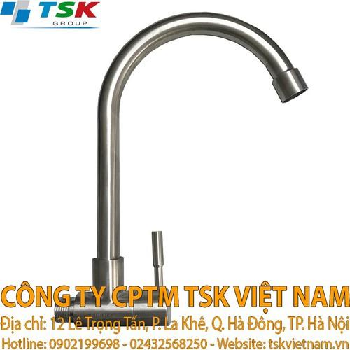 Vòi chậu rửa Inox 304 - Vòi chậu rửa 1 đường nước cao cấp