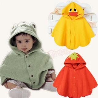 Áo choàng ếch - vịt- dâu cho bé