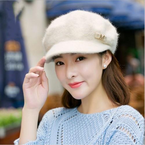 Mũ Beret mũ nồi có vành thời trang hàng Quảng Châu