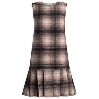 De Leah - Đầm Suông Đuôi Cá Xếp Li - Thời trang thiết kế - VL1722124N thumbnail