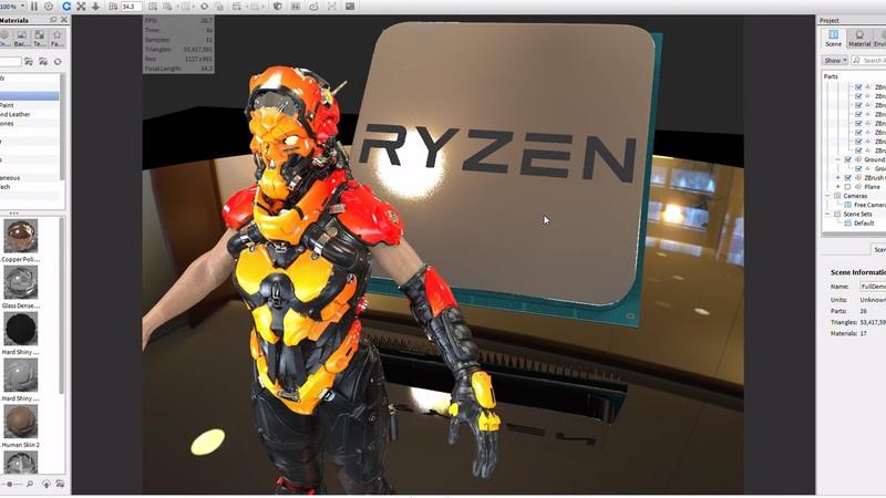 Bộ vi xử lý - CPU AMD Ryzen 5 1600 4