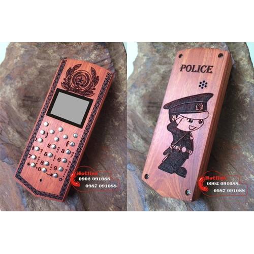 Vỏ gỗ điện thoại 1202, 1280 - CAND