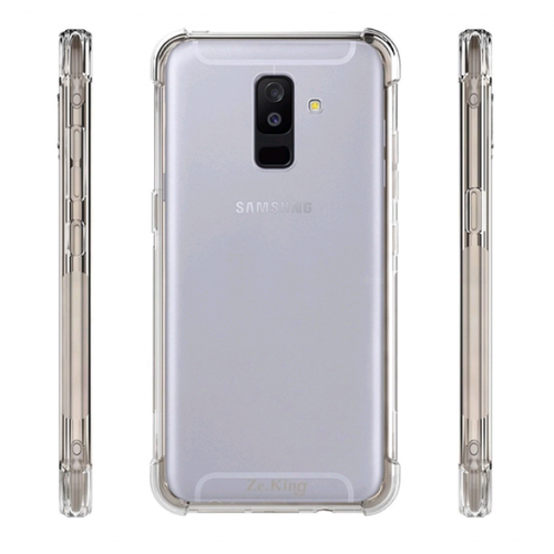 Ốp lưng Samsung A6 Plus 2018 - J8 dẻo Trong suốt Chống sốc