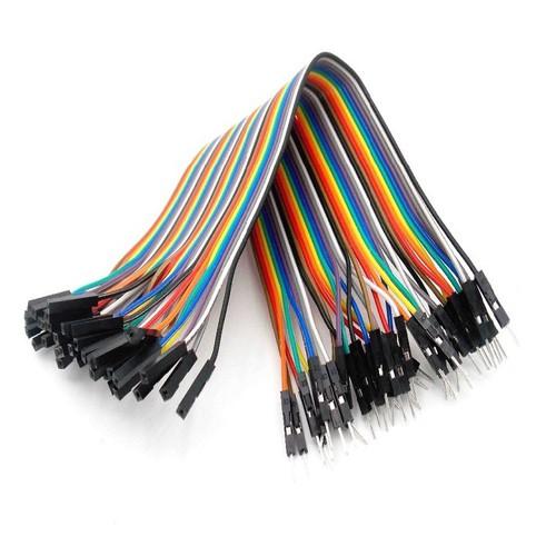 Dây cắm mạch điện tử Đực cái 40 sợi 20cm
