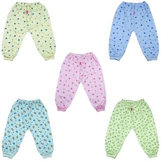 Combo 10 quần dài In hình COTTON XỊN cho bé trai bé gái từ 2-15kg - quần dài chục , đồ cho trẻ sơ sinh , quần áo cho bé