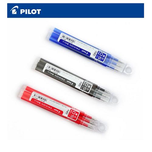 Hộp 3 ruột bút bi xóa được Pilot FrixionNhật Bản