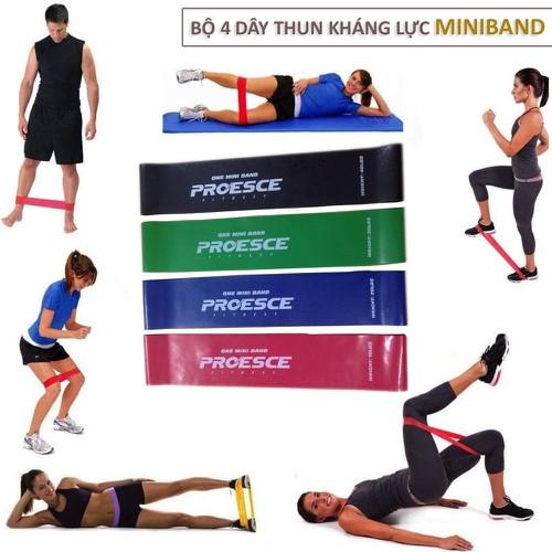Bộ 4 dây thun kháng lực Mini Band tập toàn thân cho dân tập Gym chuyên nghiệp - 6950636 , 13689669 , 15_13689669 , 160000 , Bo-4-day-thun-khang-luc-Mini-Band-tap-toan-than-cho-dan-tap-Gym-chuyen-nghiep-15_13689669 , sendo.vn , Bộ 4 dây thun kháng lực Mini Band tập toàn thân cho dân tập Gym chuyên nghiệp