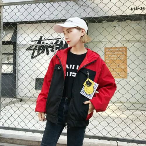 áo khoác dù phối màu ACTION PURPLE Mã: AO3575 - ĐỎ