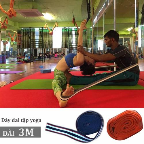 Dây đai tập yoga dài 3 mét hỗ trợ xoạc, mở háng, mở khớp - 6963983 , 13704489 , 15_13704489 , 100000 , Day-dai-tap-yoga-dai-3-met-ho-tro-xoac-mo-hang-mo-khop-15_13704489 , sendo.vn , Dây đai tập yoga dài 3 mét hỗ trợ xoạc, mở háng, mở khớp