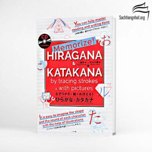 Memorize Hiragana & Katakana by tracin strokes with pictures