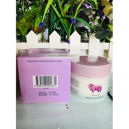Kem dưỡng da mỡ cừu Careline Úc - Hộp màu tím