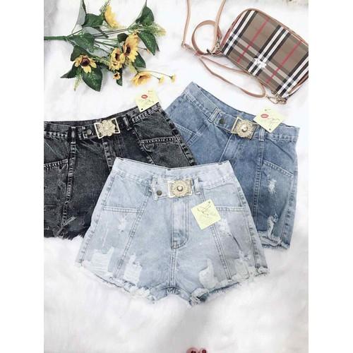 Quần short jean nữ kiểu hot - 6956903 , 13695688 , 15_13695688 , 95000 , Quan-short-jean-nu-kieu-hot-15_13695688 , sendo.vn , Quần short jean nữ kiểu hot