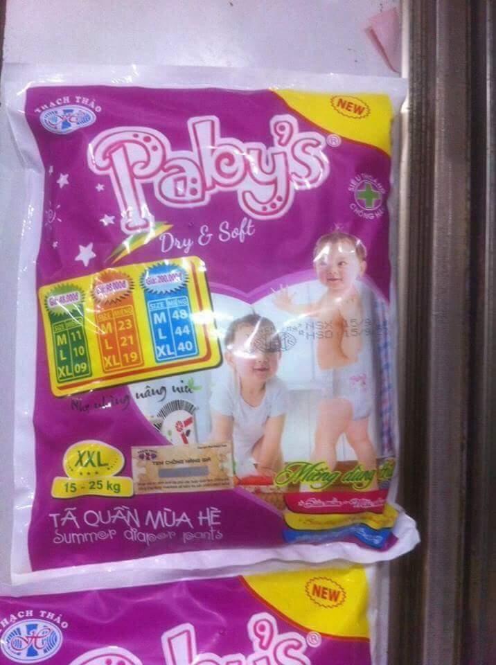 Hình ảnh Giảm giá 2 gói bỉm quần Papy's thạch thảo túi size đại
