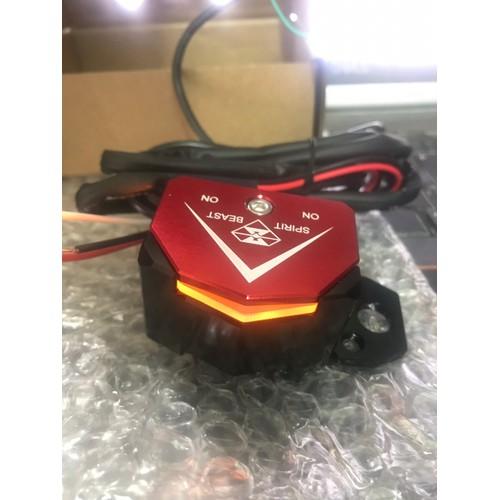 Công tắc đôi cao câp tích hợp LED Spirit Beast