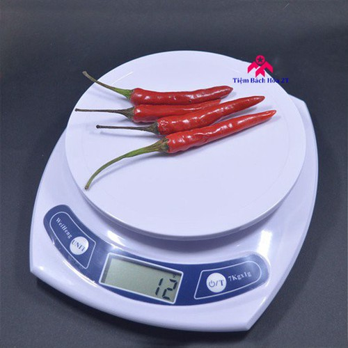 Cân điện tử 3kg  độ chính xác 0.1g - Trắng