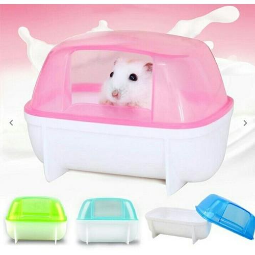 nhà tắm chữ nhật cho hamster