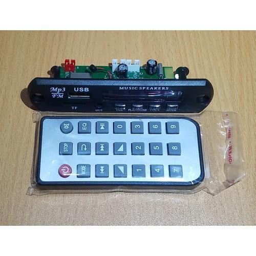 Mạch USB TF FM BLUETOOTH 4.2 giải mã mp3 flac chất âm cực tốt - 1 Bộ