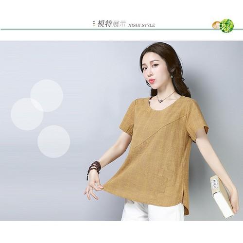 Áo kiểu nữ ngắn tay năng động A1411