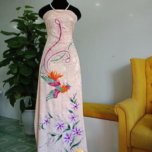 Vải áo dài vẽ Chim Phượng Hoàng |Biểu Tượng của Sự Tái Sinh và Bất Diệt CỰC ĐẸP  - Vẽ Áo Dài Brahma - 6976886 , 13718853 , 15_13718853 , 1390000 , Vai-ao-dai-ve-Chim-Phuong-Hoang-Bieu-Tuong-cua-Su-Tai-Sinh-va-Bat-Diet-CUC-DEP-Ve-Ao-Dai-Brahma-15_13718853 , sendo.vn , Vải áo dài vẽ Chim Phượng Hoàng |Biểu Tượng của Sự Tái Sinh và Bất Diệt CỰC ĐẸP  - V