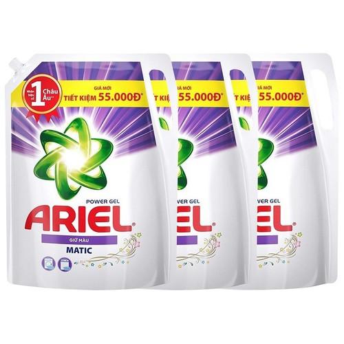 Combo 3 túi Nước giặt Ariel Power Gel giữ màu 2.4kg - 4602154 , 13717917 , 15_13717917 , 390000 , Combo-3-tui-Nuoc-giat-Ariel-Power-Gel-giu-mau-2.4kg-15_13717917 , sendo.vn , Combo 3 túi Nước giặt Ariel Power Gel giữ màu 2.4kg