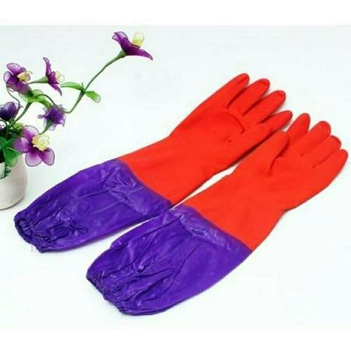 Găng tay cao su lót lông