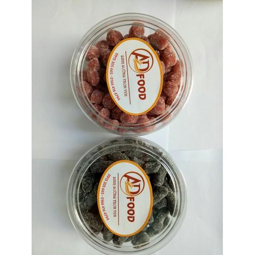 combo Hộp 250g kẹo dâu tây và 250g kẹo dâu tằm Đà LẠt