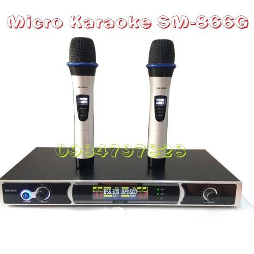 Micro không dây SM-866G