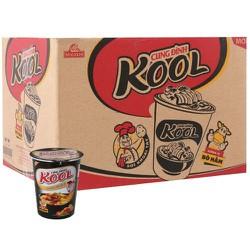Mì khoai tây Cung Đình Kool bò hầm thùng 24 ly 65g