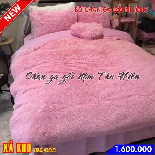 Bộ chăn ga gối nỉ lông mềm mịn màu hồng - 4488310 , 13714579 , 15_13714579 , 1600000 , Bo-chan-ga-goi-ni-long-mem-min-mau-hong-15_13714579 , sendo.vn , Bộ chăn ga gối nỉ lông mềm mịn màu hồng