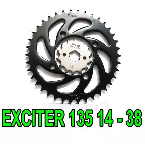Nhông dĩa Recto 14 - 38 cho Exciter 135 đời 2011 - 2014 - 6986578 , 13727953 , 15_13727953 , 250000 , Nhong-dia-Recto-14-38-cho-Exciter-135-doi-2011-2014-15_13727953 , sendo.vn , Nhông dĩa Recto 14 - 38 cho Exciter 135 đời 2011 - 2014