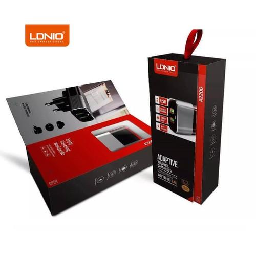 Bộ sạc 2.4A 2 cổng LDNIO A2206 - Tặng kèm cáp IPhone - 6985823 , 13726813 , 15_13726813 , 290000 , Bo-sac-2.4A-2-cong-LDNIO-A2206-Tang-kem-cap-IPhone-15_13726813 , sendo.vn , Bộ sạc 2.4A 2 cổng LDNIO A2206 - Tặng kèm cáp IPhone