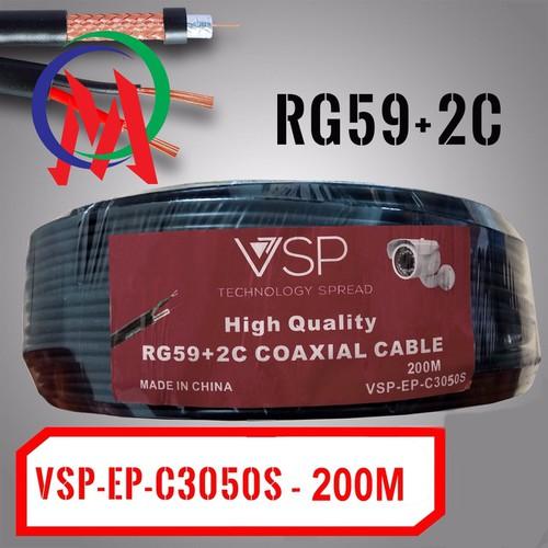 Cáp Camera Kèm Nguồn 220V VSP-C3050S RG59+2C 200m - 6973808 , 13715586 , 15_13715586 , 769000 , Cap-Camera-Kem-Nguon-220V-VSP-C3050S-RG592C-200m-15_13715586 , sendo.vn , Cáp Camera Kèm Nguồn 220V VSP-C3050S RG59+2C 200m