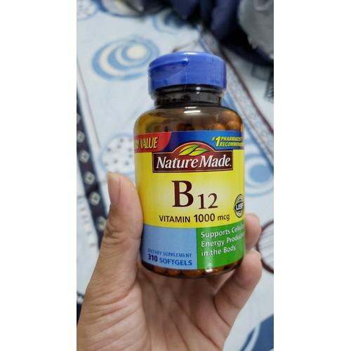 Vitamin B12 Nature Made 310 viên