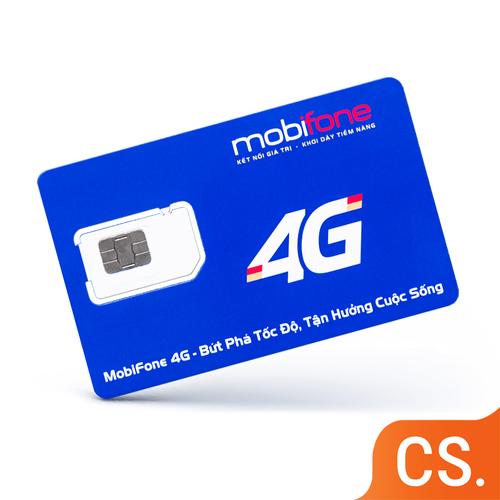 Sim 4G Mobifone MDT250A 4GB x 12 tháng tốc độ cao, không cần nạp tiền