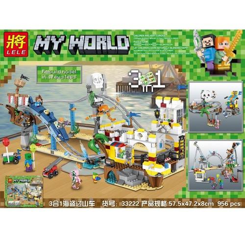 Lắp ráp xếp hình Minecraft dồ chơi sáng tạo 3in1 mô hình tàu lượn cướp biển siêu tốc 956 khối - 7006049 , 13751587 , 15_13751587 , 620000 , Lap-rap-xep-hinh-Minecraft-do-choi-sang-tao-3in1-mo-hinh-tau-luon-cuop-bien-sieu-toc-956-khoi-15_13751587 , sendo.vn , Lắp ráp xếp hình Minecraft dồ chơi sáng tạo 3in1 mô hình tàu lượn cướp biển siêu tốc 95