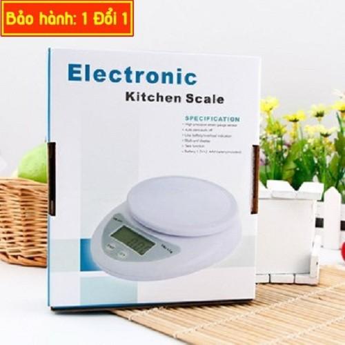 Cân Electronic Kitchen là cân điện tử giúp chúng ta có thể cân trái cây chuẩn nhất Max 5Kg