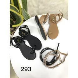 Giày sandal chiến binh 2 quai xích |Giày sandal chiến binh nữ